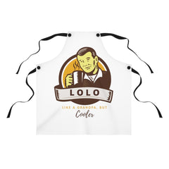 Lolo... Like A Grandpa, But Cooler - Apron
