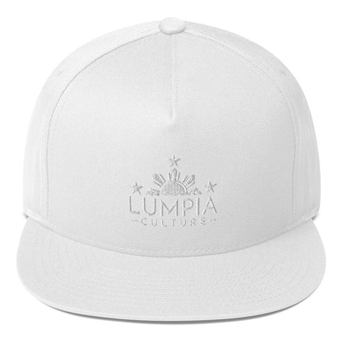 "Lumpia Culture™ ""Original"" Embroidered Flat Bill Hat - Snapback"