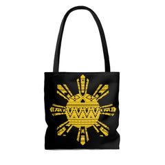 Lumpia Culture™ Polynesian Tribal, Philippines Sun - Tote Bag Bags Large