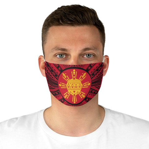 Tribal Tattoo Filipino Sun - Face Mask Accessories