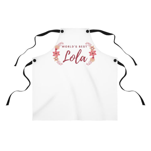 """World's Best Lola"" - Apron Accessories"