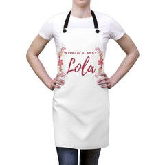 """World's Best Lola"" - Apron Accessories One Size"