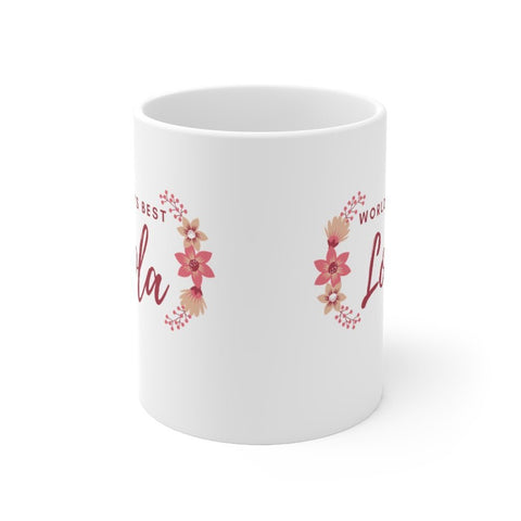 """World's Best Lola"" - Mug 11oz Mug"