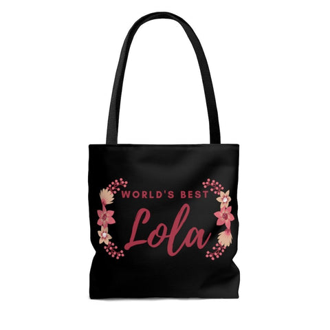 World's Best Lola - Tote Bag Bags