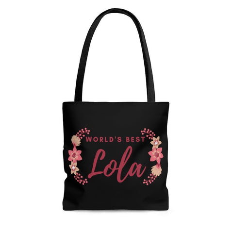 World's Best Lola - Tote Bag Bags Large
