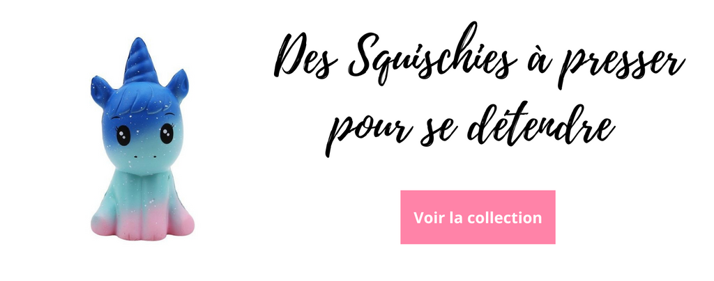 Collection Squischies Kawaii