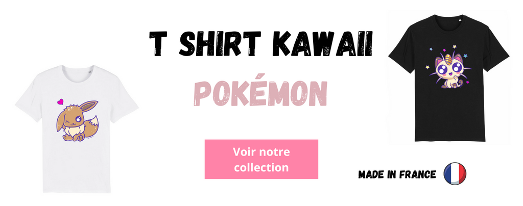T shirt Kawaii Pokémon