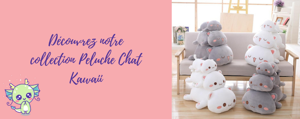 Collection Peluche Chat Kawaii