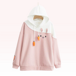 Sweat Kawaii Lapin Carotte