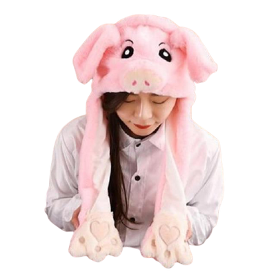 Bonnet Kawaii Cochon