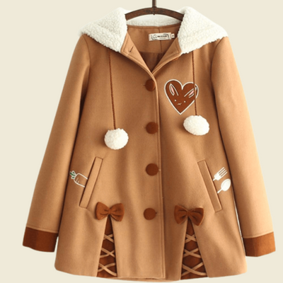 Manteau Lapin Kawaii