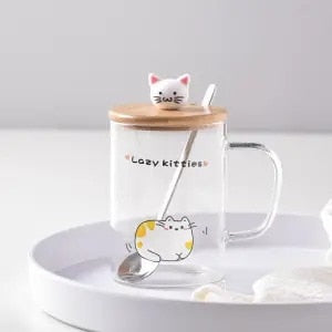Mug Kawaii <br> Chat Transparent
