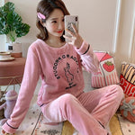 Pyjama Kawaii Lapin Rose