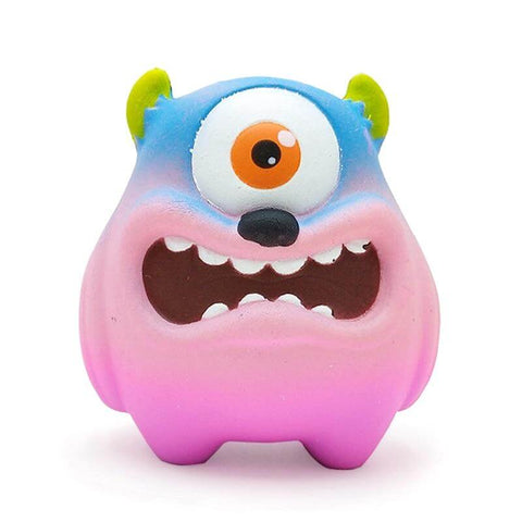 Squishy Kawaii <br> Monstre Coloré