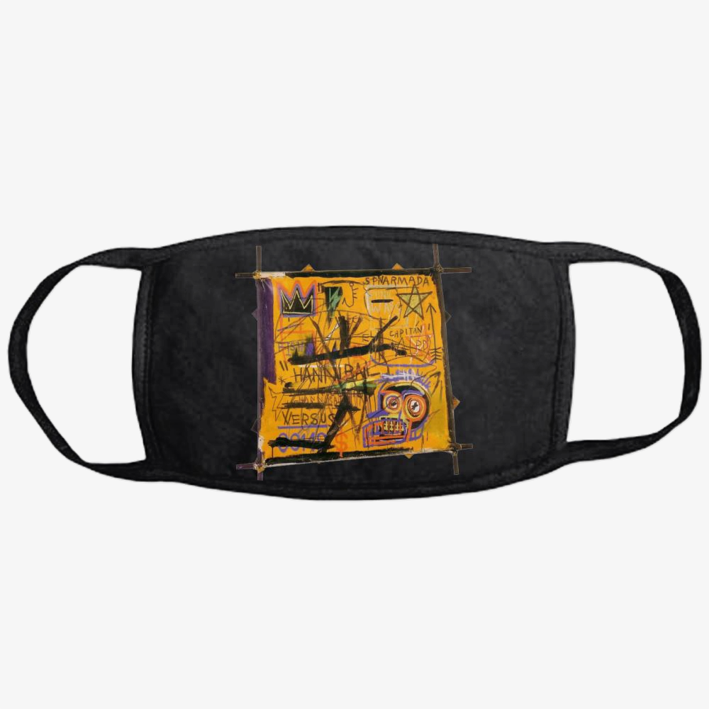 Basquiat Arts, Jean-michel Basquiat Classic Reusable Mask