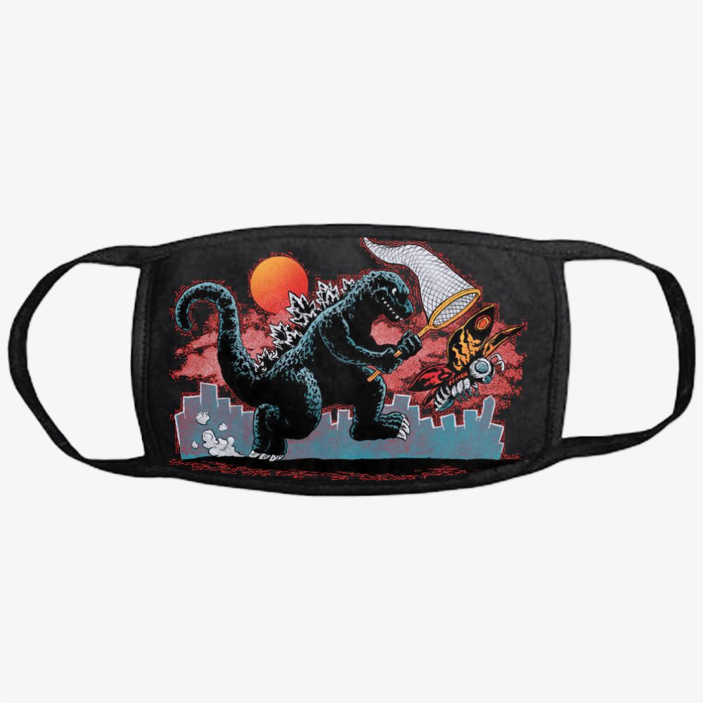 Catching Kaiju, Godzilla Classic Reusable Mask
