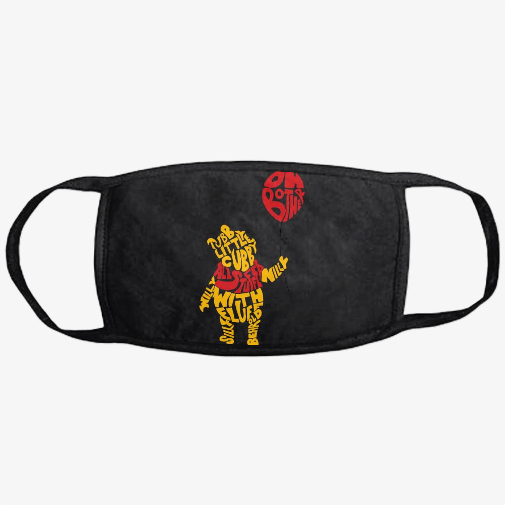 Chubby Little Cubby, Winnie-the-pooh Classic Reusable Mask