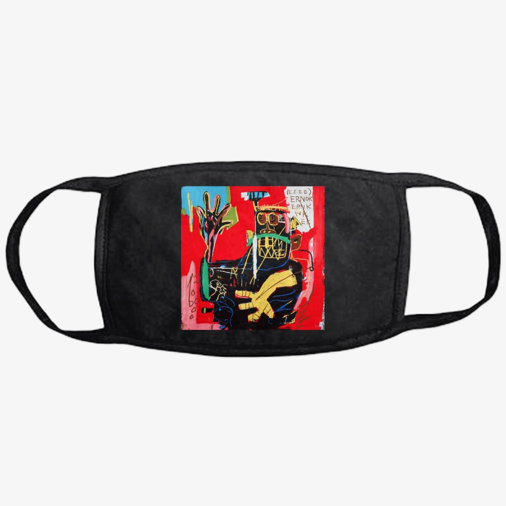 Ernok, Jean-michel Basquiat Classic Reusable Mask