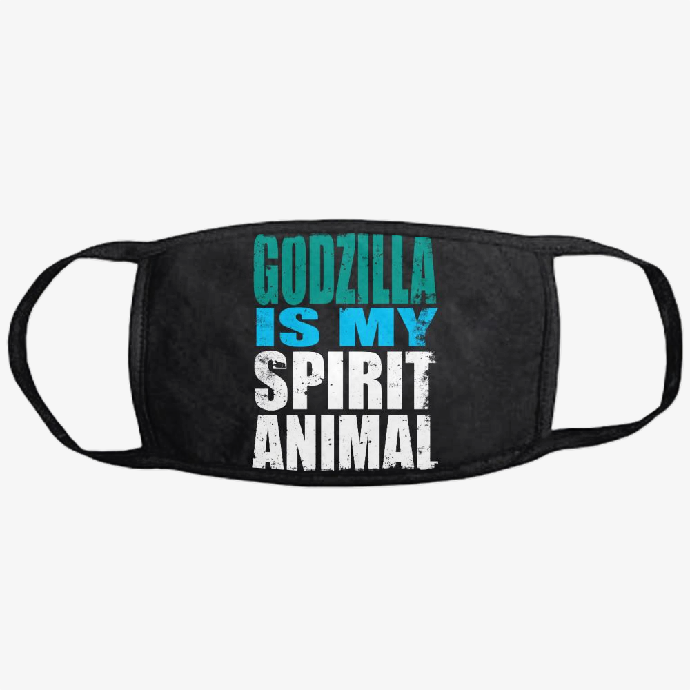 Godzilla Is My Spirit Animal, Godzilla Classic Reusable Mask