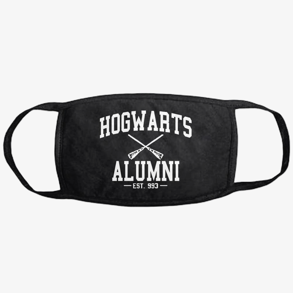 Hogwarts Alumni White, Harry Potter Classic Reusable Mask