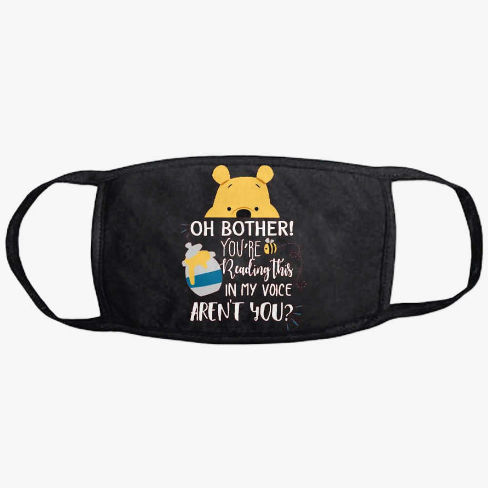 Oh Bother, Winnie-the-pooh Classic Reusable Mask