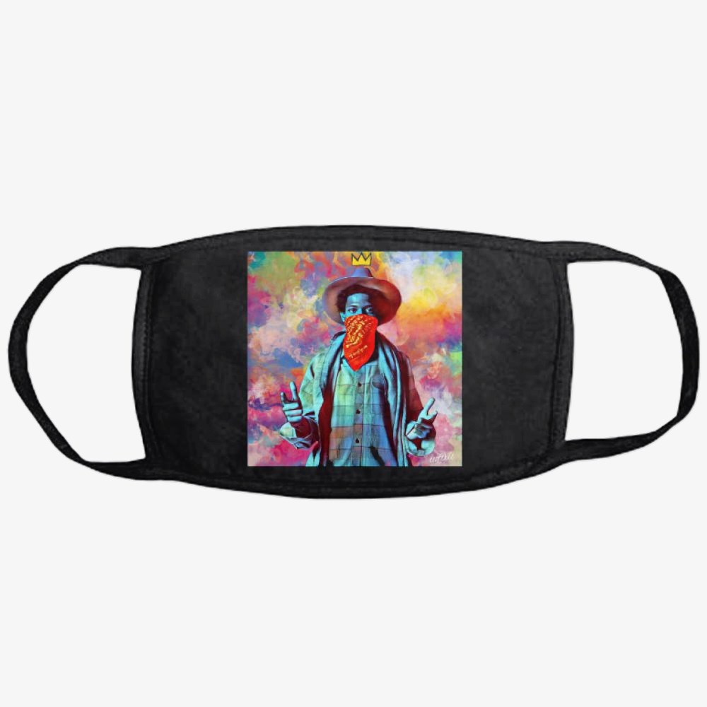 On The Draw, Jean-michel Basquiat Classic Reusable Mask