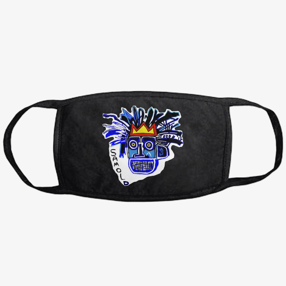 Samold Blu, Jean-michel Basquiat Classic Reusable Mask