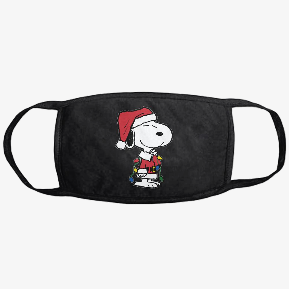 Snoopy Christmas Gifts, Snoopy Classic Reusable Mask