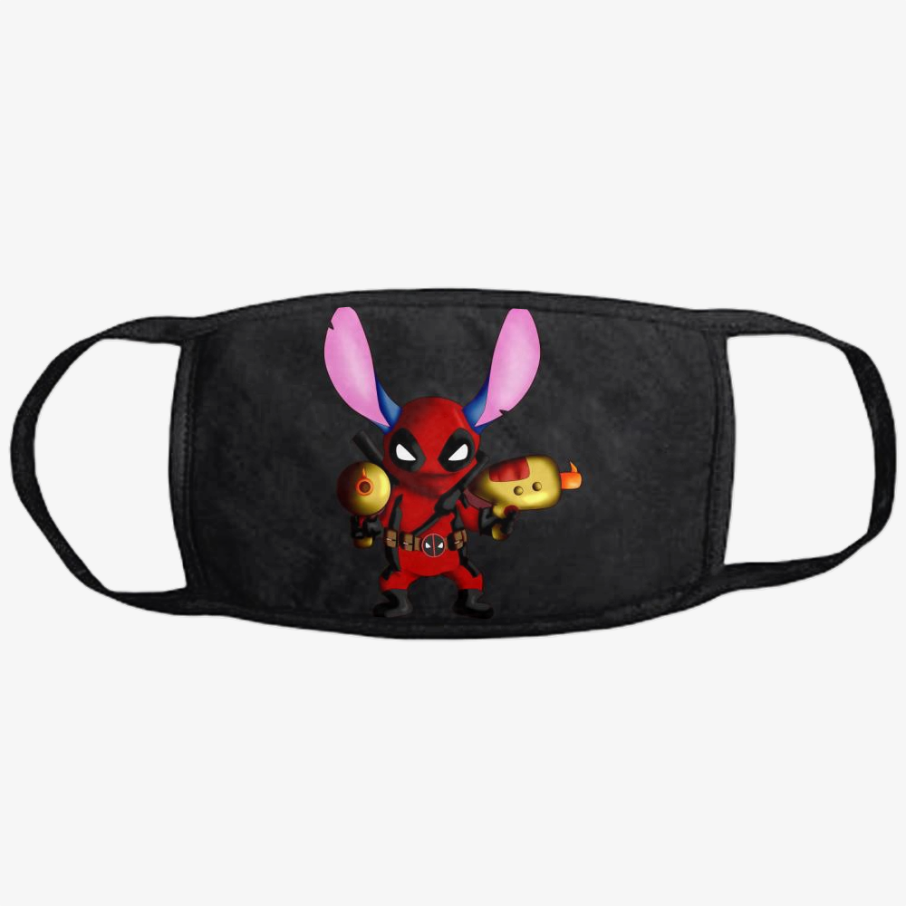 Stitch Deadpool Combined, Stitch Classic Reusable Mask