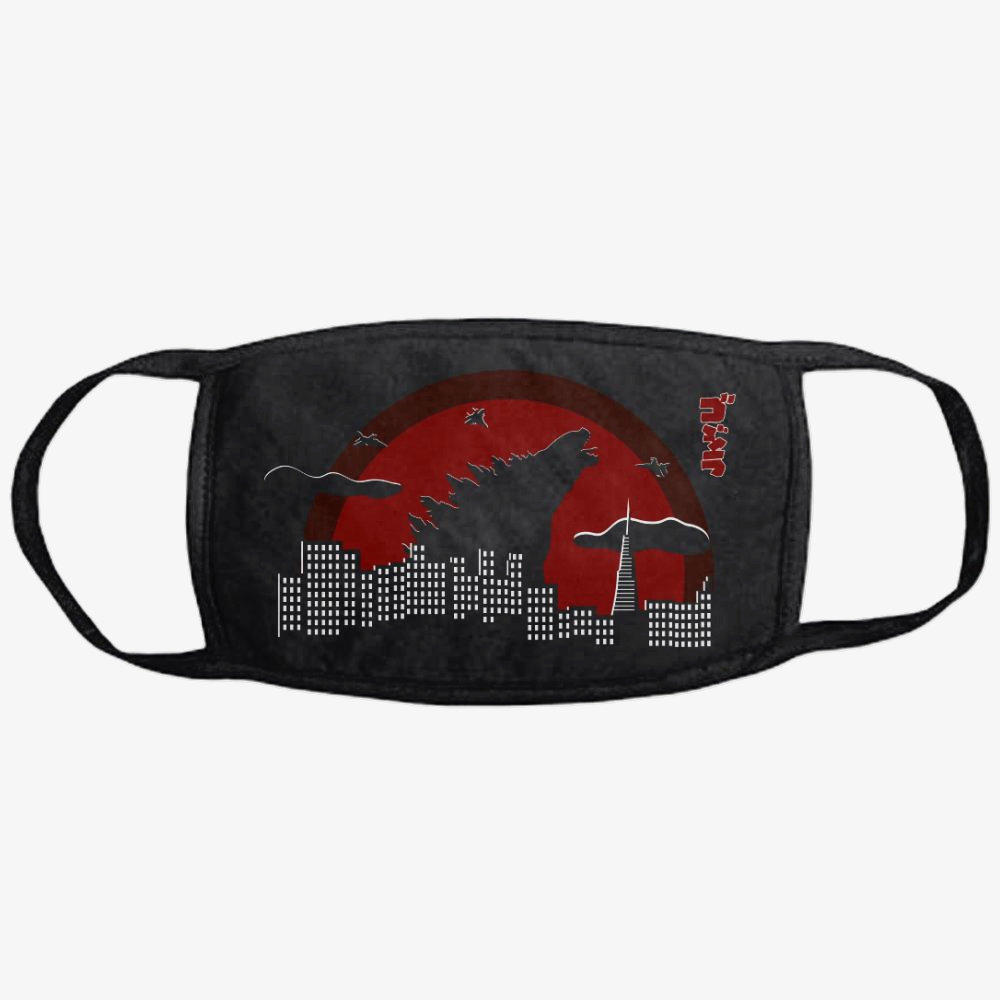 Sunset Godzila, Godzilla Classic Reusable Mask