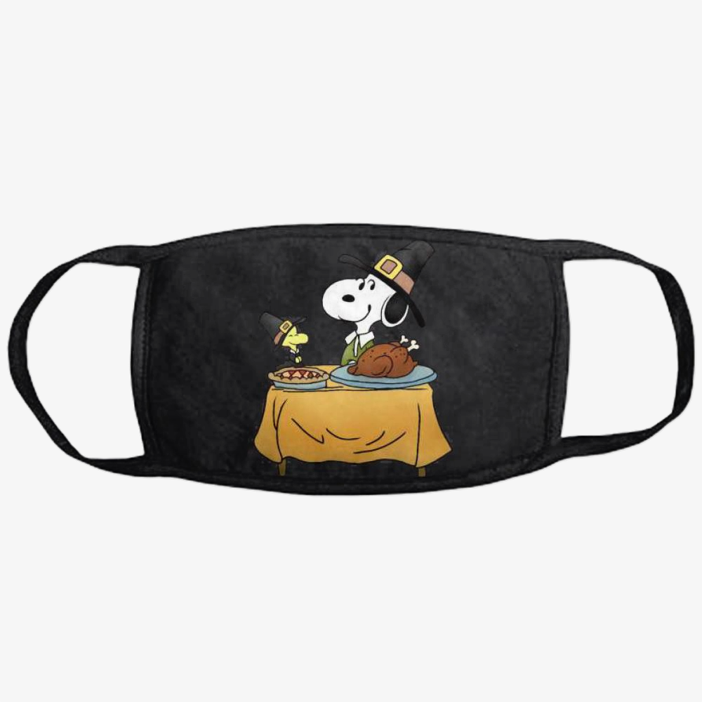 Thanksgiving Snoopy, Snoopy Classic Reusable Mask