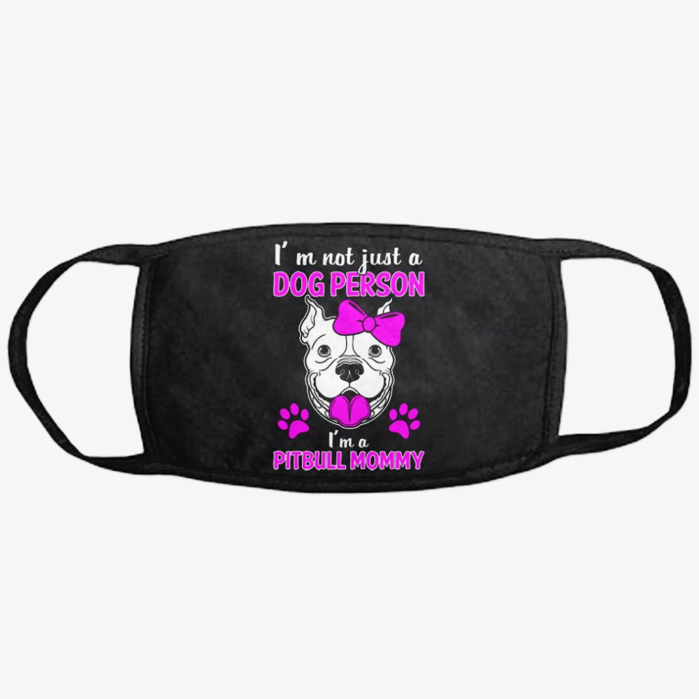 The Pit Bull Mommy, Pitbull Classic Reusable Mask