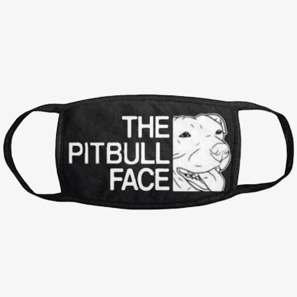 The Pitbull Face, Pitbull Classic Reusable Mask