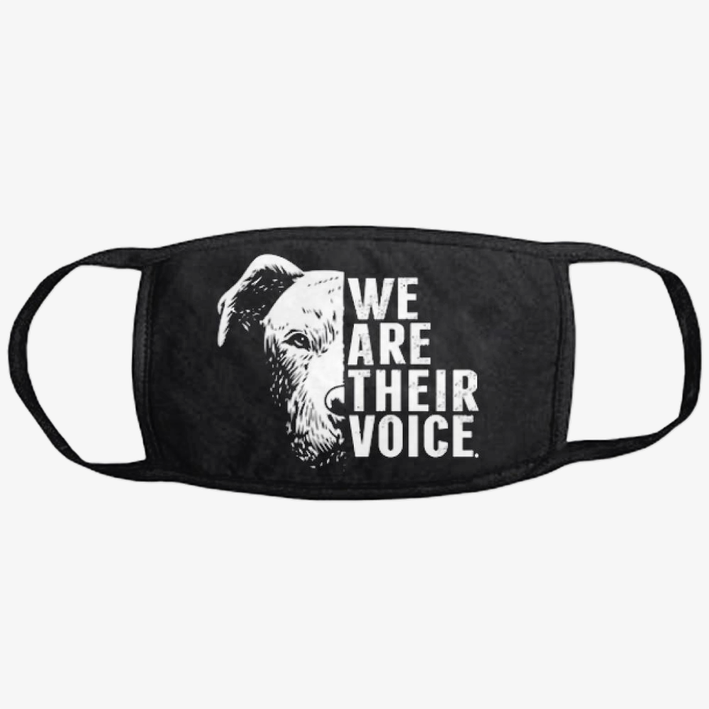 The Pitbull We Are Their Voice, Pitbull Classic Reusable Mask