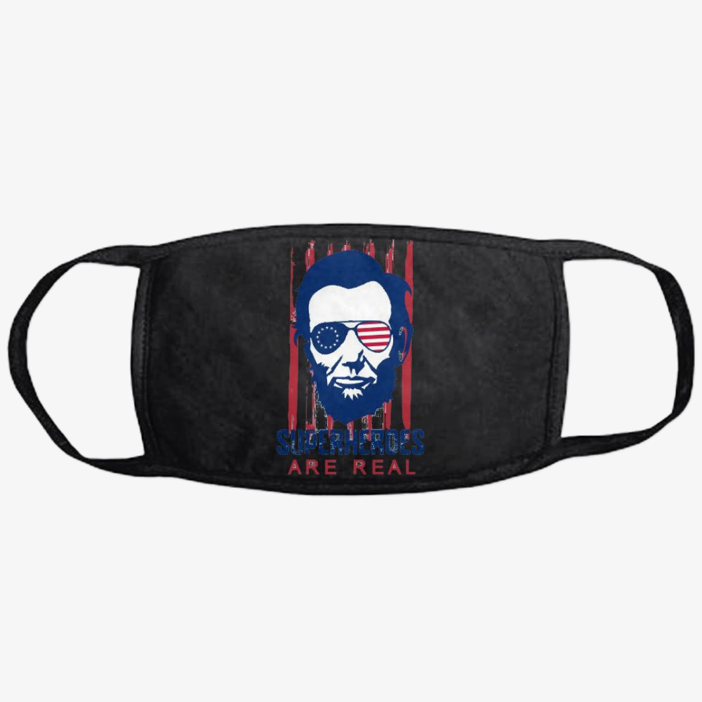 The Real Superhero, Abraham Lincoln Classic Reusable Mask