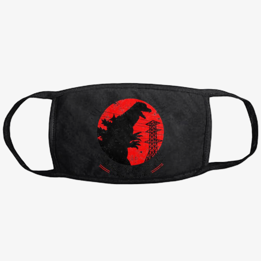 Tokyo Power And Light, Godzilla Classic Reusable Mask