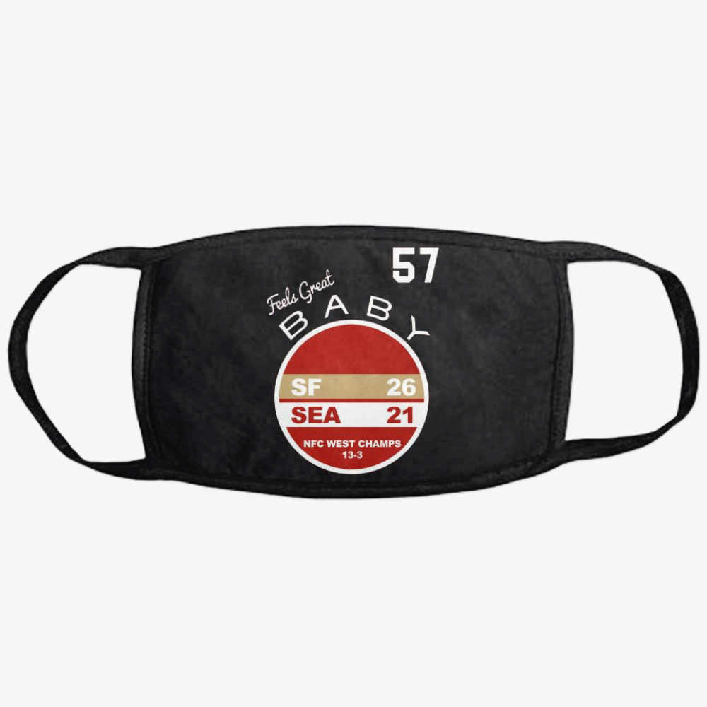 Western Division Champs, Jimmy Garoppolo Classic Reusable Mask