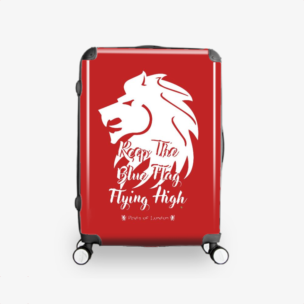 Cfc Lion, Chelsea Fc Hardside Luggage