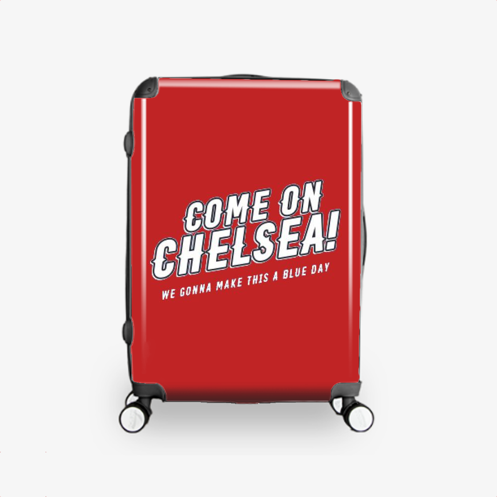 Come On Chelsea, Chelsea Fc Hardside Luggage