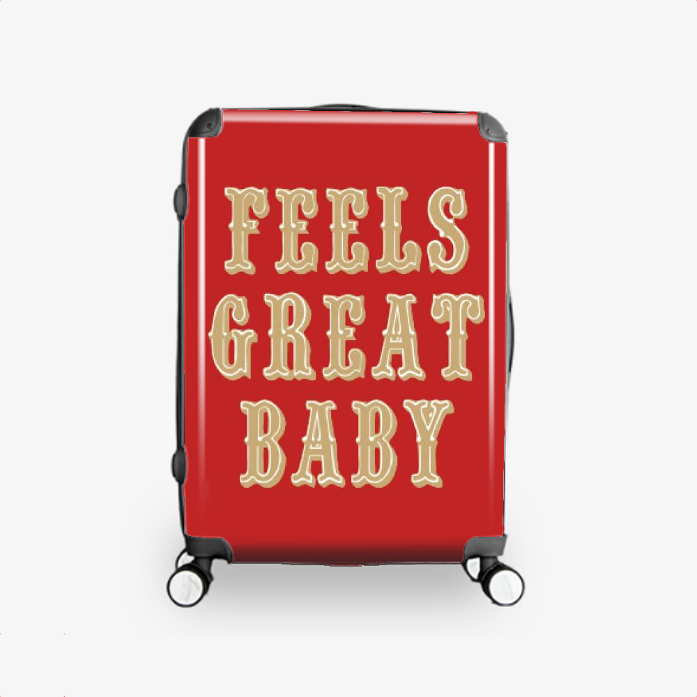 Feels Great Baby, Jimmy Garoppolo Hardside Luggage