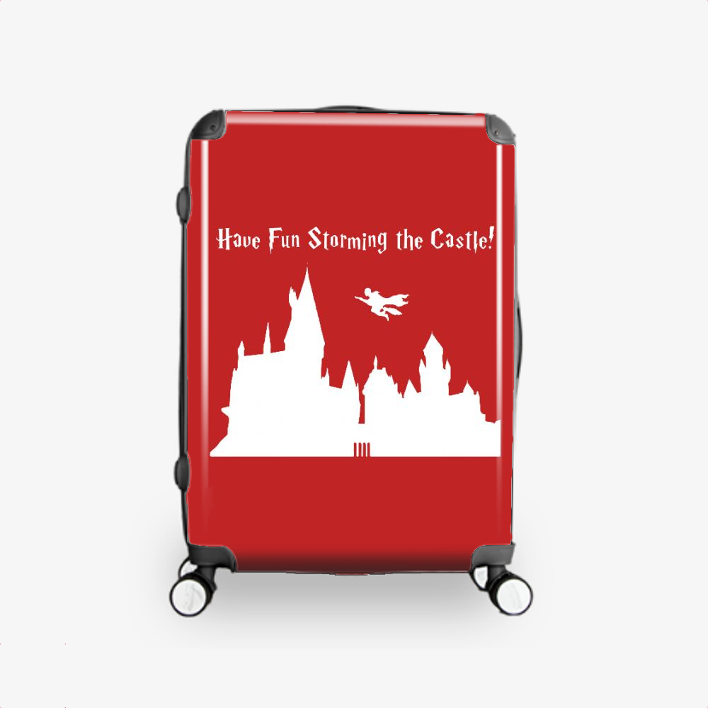 Harry Potter And The Princess Bride, Harry Potter Hardside Luggage