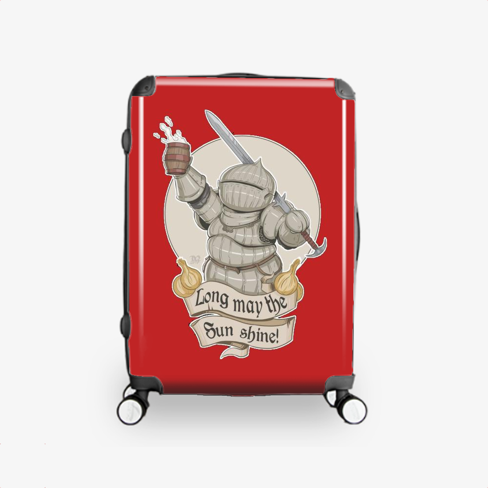 Long May The Sun Shine, Dark Souls Hardside Luggage
