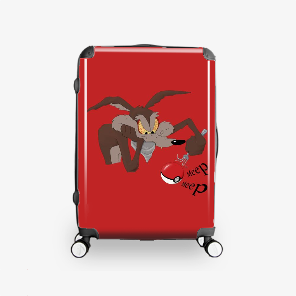 Pokemon Goin Wrong, Bugs Bunny Hardside Luggage
