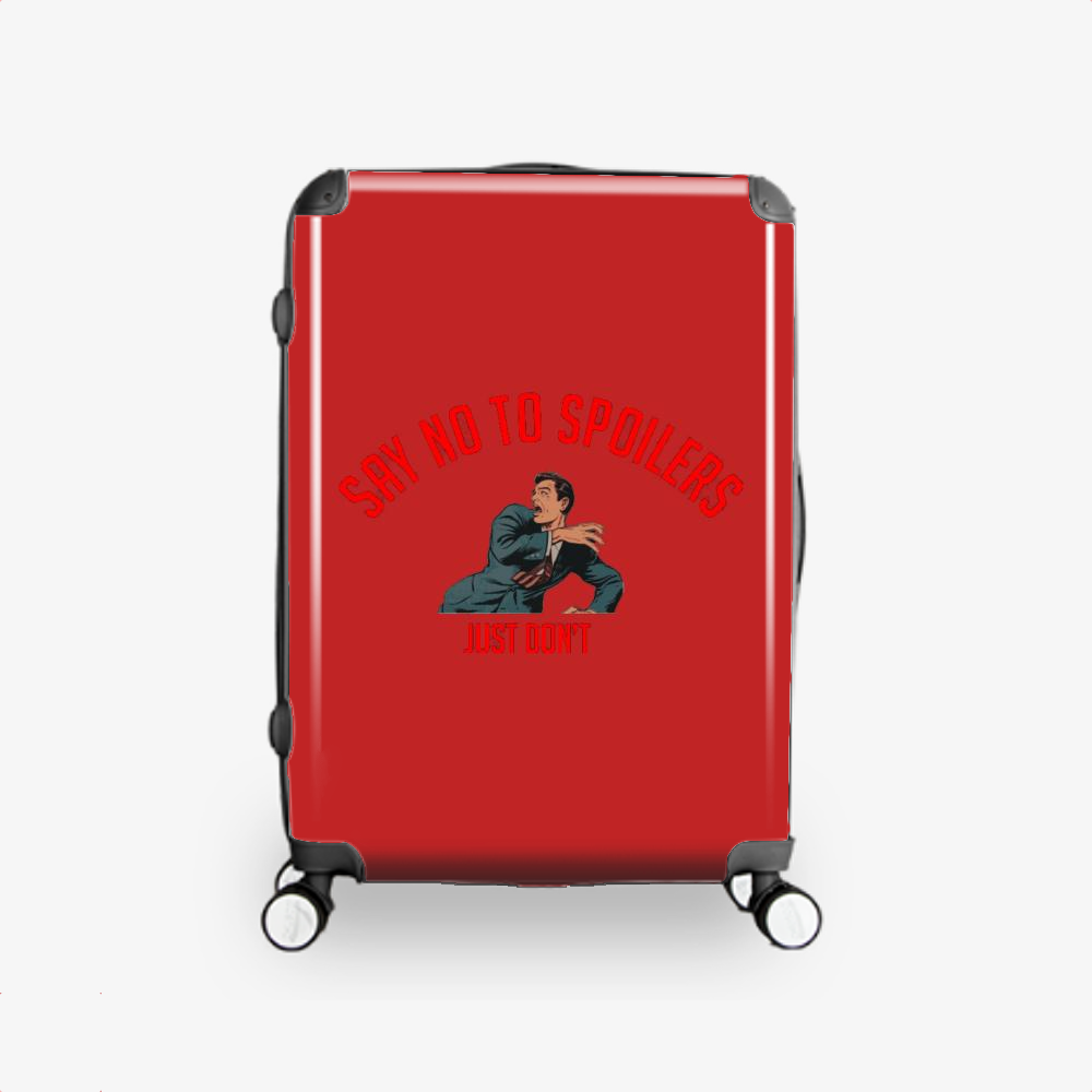 Say No To Spoilers, The Expanse (tv Series) Hardside Luggage