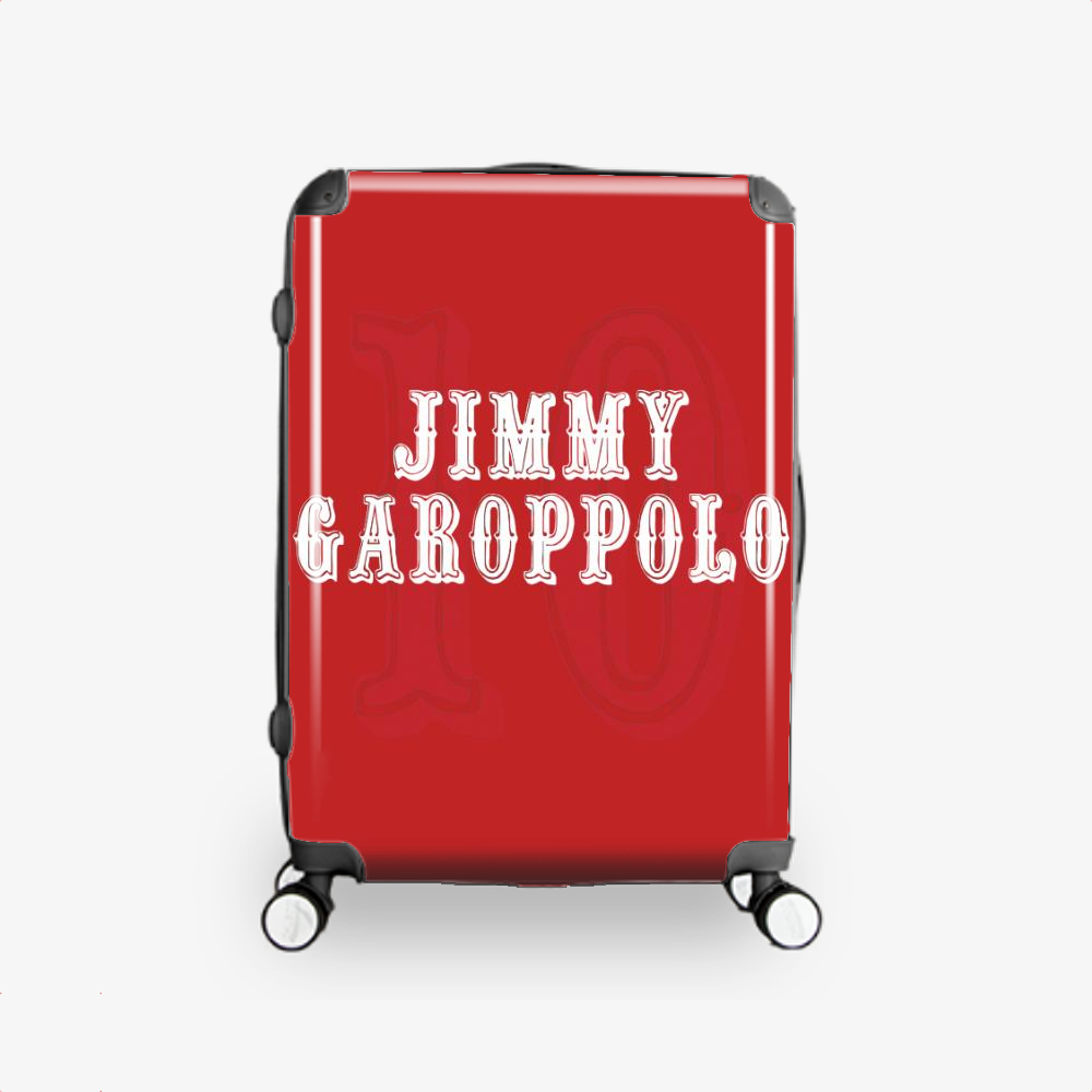 The Goat, Jimmy Garoppolo Hardside Luggage