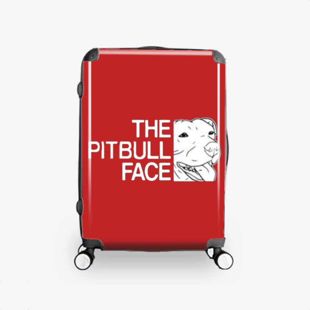 The Pitbull Face, Pitbull Hardside Luggage