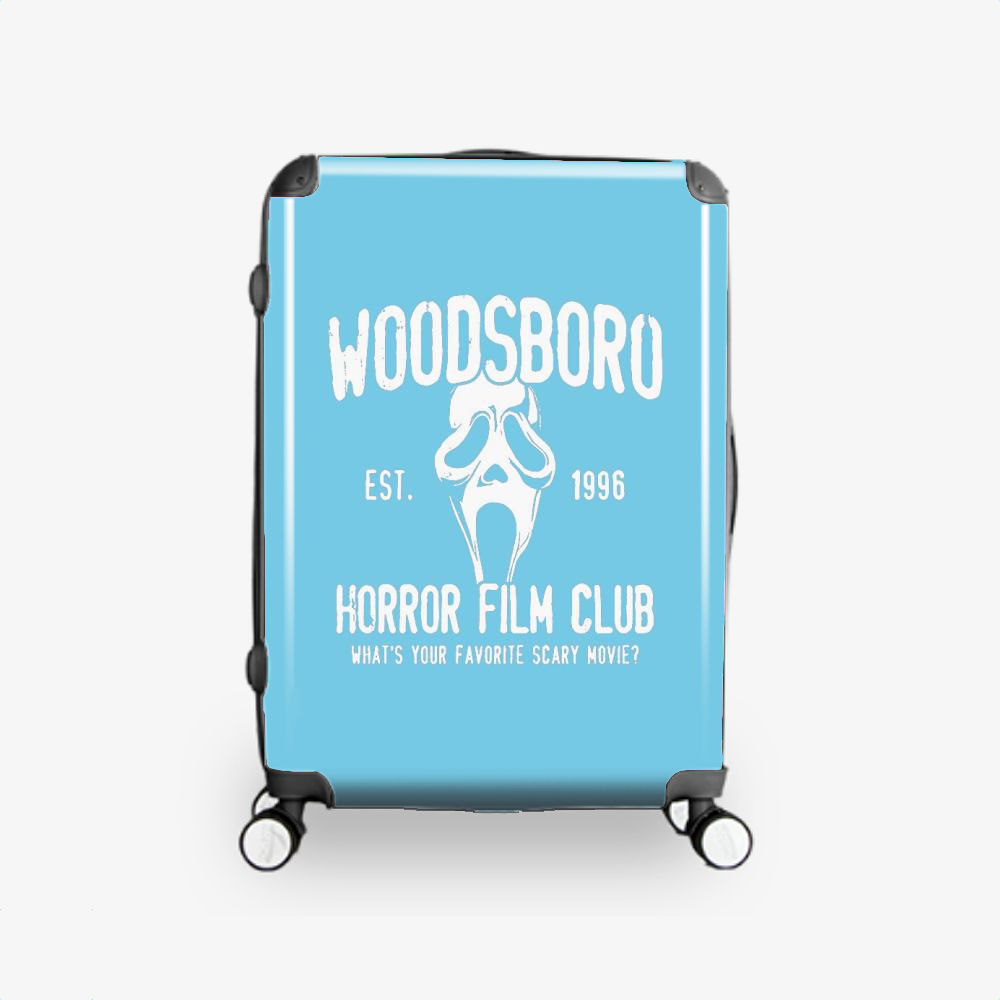 Woodsboro Horror Film Club, Horror Film Hardside Luggage