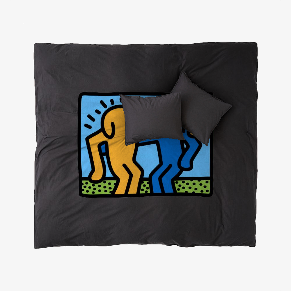 Brothers, Keith Haring Duvet Cover Set