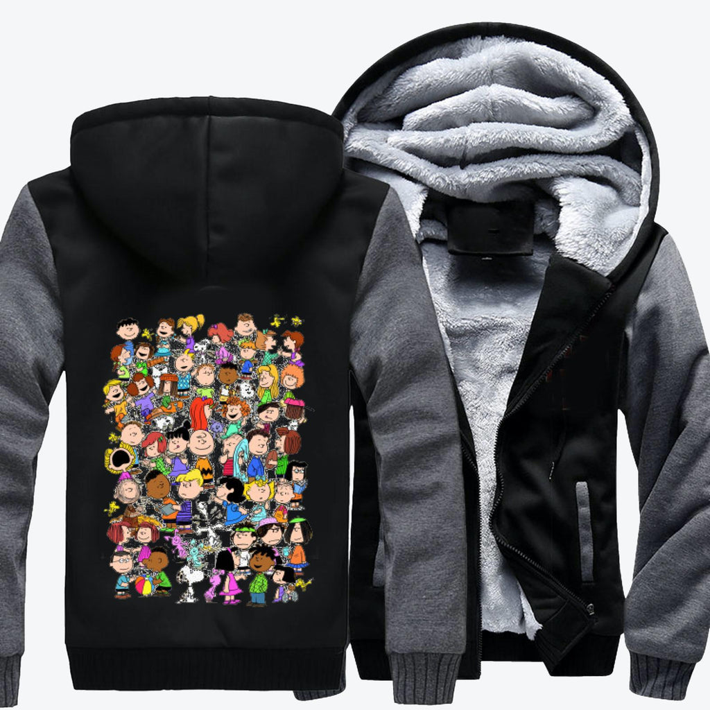 The Peanuts, Snoopy Fleece Jacket