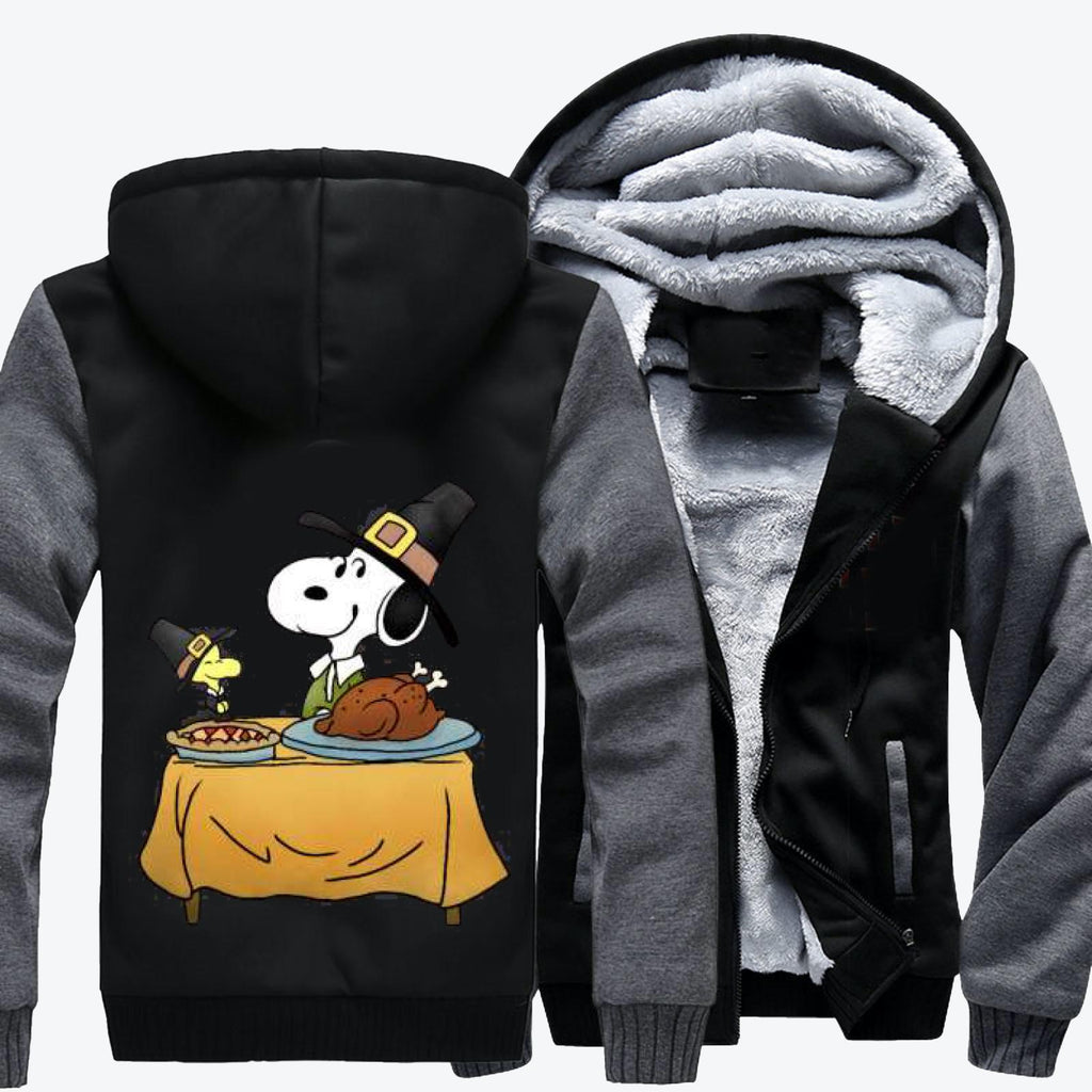 Thanksgiving Snoopy, Snoopy Fleece Jacket